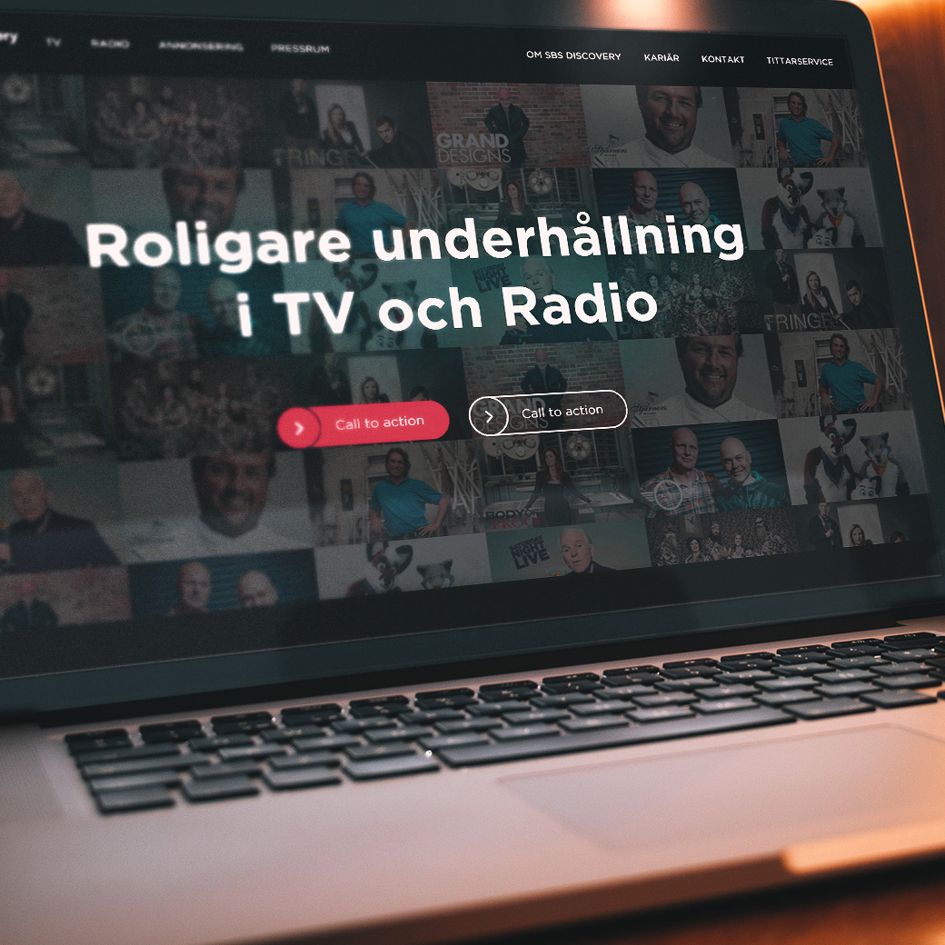 Image thumbnail for Discovery Networks Sweden project.